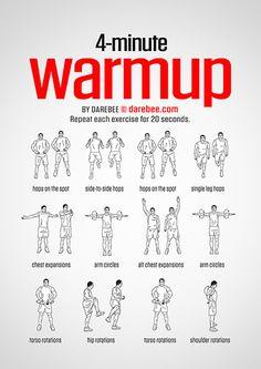 Warmup & Stretching