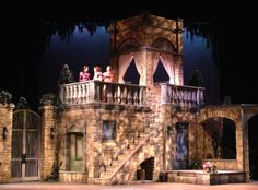 Theatre set design for Much Ado About Nothing by Julie Ray