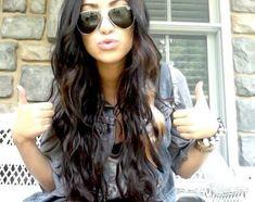 I want dark hair!