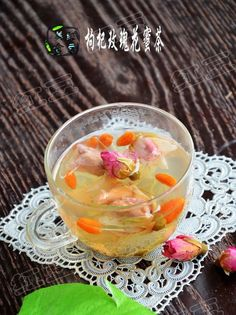 Lycium barbarum nectar rose tea