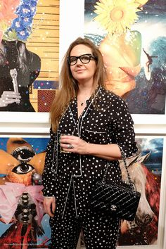 Opening night portrait of Del Kathryn Barton at Roslyn gallery for the her show 'angel dribble'. Del Kathryn Barton, Night Portrait, Night Photos, Opening Night, Erotic Art, Angel, Design Language, Street Style, Artists