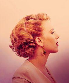 bobs strawberry blonde hair | Scarlett Johansson's hair!