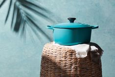 Caribbean Blue is an island-inspired hue, blended from the vibrant palette of a tropical seascape. Shop the Caribbean Blue collection in store or online at www.lecreuset.co.za. Le Creuset, Hue, Caribbean, Palette, Vibrant, Tropical, Colours, Island, Inspired