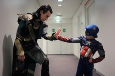 The Soldier! by S-Seith.deviantart.com #Loki #Avengers #Thor