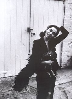 Polly Jean . The Muse to much of Nick Cave's 1997's ' The Boatman's Call' with songs : Green Eyes , Black Hair Country Girl & Far from Me