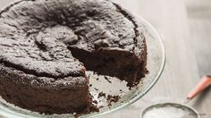 Vegan Dark-Chocolate Avocado Beet Cake Recipe