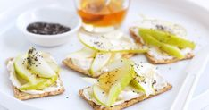 This healthy combination of Cream cheese, pear, chia and honey is proudly brought to you by Arnott's Vita-Weat and taste.com.au.