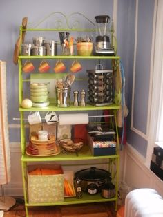 On pinterest bakers rack bakers rack decorating and wrought iron