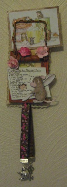 "This gorgeous ""Altered Mouse Trap"" was made for me by my House Mouse friend, Snoopy.  I absolutely adore it!"