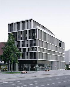 Bechter Zaffignani Architekten, Rasmus Norlander · Raiffeisenbank im Rheintal