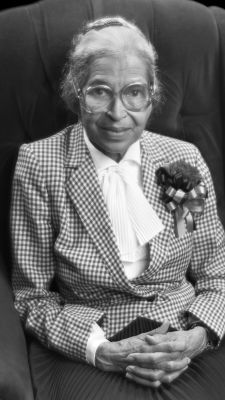 Rosa Parks | She was a secretary for the NAACP, who refused to give up her seat on the bus to a white person, and she became an inspiration to...