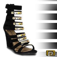 #Sapato Do dia: #Gladiadora Glam! (Ref.:8144238)