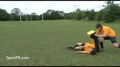 Rugby Rucks - Falling correctly drill
