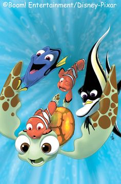 Fin, Noggin'... DUDE!!! One of the most touching Pixar movies.