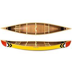Sanborn Canoe Co. Prospector Canoe - 16'