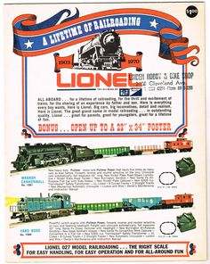 1970 Lionel Catalog. In 1969, General Mills/MPC purchased Lionel and moved production to Michigan putting new life into Lionel Trains.