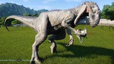Jurassic World Evolution - Indominus Rex Gameplay HD) Jurassic Park Film, Jurassic Park World, Jurassic World Characters, Jurassic World Indominus Rex, Dinosaur Park, Alien Vs Predator, Prehistoric Creatures, Creature Feature, Memes