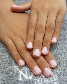 Chic Nails, Trendy Nails, Gel French Manicure, Manicure And Pedicure, Milky Nails, Opi Gel Nails, Natural Gel Nails, Dipped Nails, Gel Nail Designs