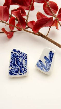 Your place to buy and sell all things handmade Vintage Jewelry, Handmade Jewelry, Earring Tree, Broken China, Unusual Jewelry, Organic Shapes, Zen, Stud Earrings, Fine China