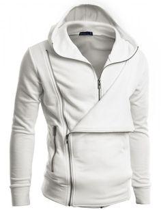 Doublju - Blusa Casual em Design Único Jaqueta com Capuz (C7J) Compre roupas de…