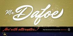 Mr Dafoe Pro font download