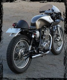 CAFE RACER CULTURE: Perfect SR