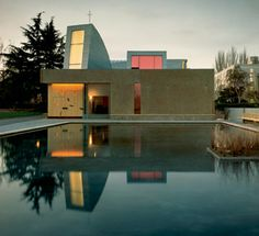 St. Ignatius Chapel at Seattle University.  Designed by Steven Holl.  Go there.  Its open to the public, free, and mind blowing.