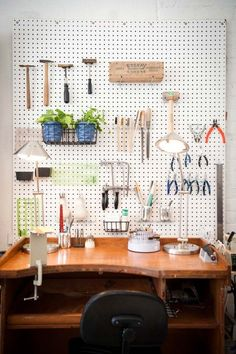 Shop Talk: Jane Pope Jewelry | theglitterguide.com…future workshop;)