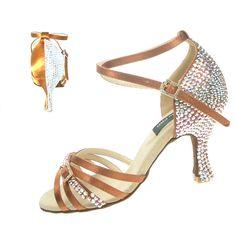 Modena Crystals Ballroom Dance Shoe - Click Image to Close