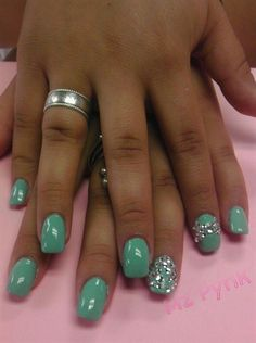 Tiffany & Co. - Nail Art Gallery by NAILS Magazine