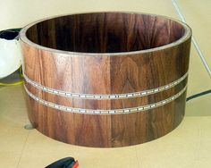 How to inlay drums - depth, alignment, gluing etc.