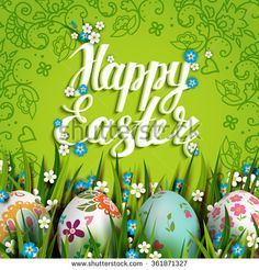 Buy Rachel Ellen Happy Easter Floral Card Online At JohnlewisCom