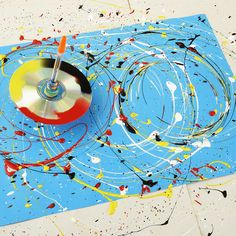 Art 499758889901782757 - Family how-to: make a paint-splattering spinning top – stuck for something to do? Learn how to make a spinning top that will spin and spin, splattering paint to create multiple masterpieces. Source by elantkowski Bubble Painting, Bubble Art, Balloon Painting, Painting Abstract, Abstract Art For Kids, Splatter Art, Splatter Paint Canvas, Painting Activities, Royal Academy Of Arts