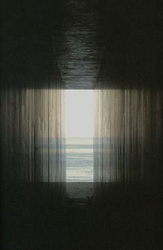 photo by Hiroshi Sugimoto - great inspiration for a all-ink painting