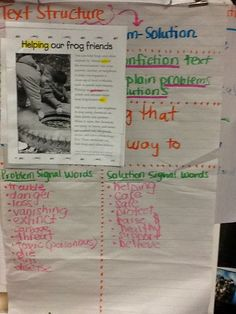 Life in 4B...: Flagging Our Thoughts, Problem/Solution Text Structure, Figurative Language, & Crayfish!