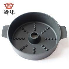 鑄味烤薯鍋 22CM生鐵烤爐加厚燃氣灶紅薯土豆地瓜家用鍋 鑄鐵烤鍋