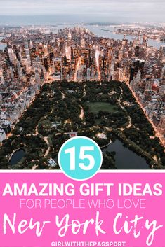Looking for some fantastic gift ideas for people who love New York City? Then check out this list of 15 perfect, New York City souvenirs that include everything from games, to hand bags, to jewelry to iconic NYC foods. Romantic Things To Do, Most Romantic Places, Usa Travel Guide, Travel Usa, Canada Travel, Central Park, Empire State Building, New York City Travel, Travel Gifts