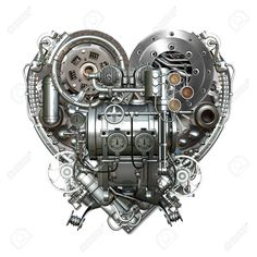 A technically mechanical heart at hard work , Laugh Now Cry Later, Heart Tat, Harley Davidson Pictures, Biker Love, Mechanic Tattoo, Car Repair Service, Anatomical Heart, En Stock, Dieselpunk