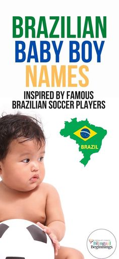 25 Unique Brazilian Baby Boy Names Inspired by Famous Brazilian Soccer Players #babyboynames #Brazilianbabynames #brazilianbabyboynames #Uniquebabyboynames #uncommonbabyboynames Strong Baby Names, Unique Baby Names, Baby Girl Names, Baby Boy, Rustic Boy Names, Brazilian Soccer Players, Newborn Quotes, Uncommon Baby Names, Name Inspiration