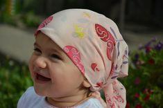 Hand Painted Silk Scarf pink bandana gift for girl от Batikrosa