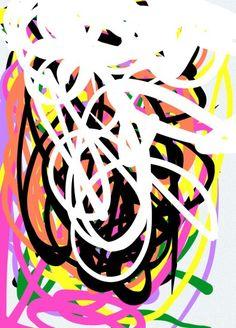 #FRACTAL NO 21 - Digital experiment dedicated to Jackson Pollock