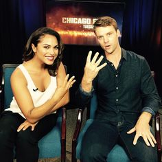 """""""Is a #Dawsey baby coming?!  You don't want to miss tonight's #ChicagoFirePremiere!"""""""
