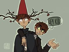 Sorry bill but wirt has a way higher mental fortitude then you do. Cartoon Games, Cartoon Shows, Cartoon Art, Best Crossover, Fandom Crossover, Garden Wall Art, Over The Garden Wall, Garden Falls, Gravity Falls Crossover