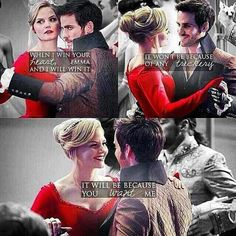 Emma and Killian ♡ When I Win Your Heart