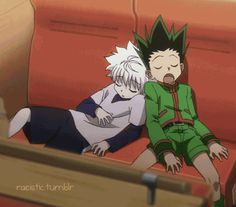 #cute Killua and Gon   Hunter x Hunter