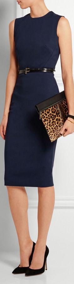 Simple but gorgeous professional work dresses ideas 10