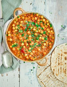 Try our chana masala recipe. This easy chana masala recipe is an easy vegetarian curry recipe with chickpeas. Make our chana curry recipe for a vegan dinner Chickpea Recipes, Vegan Recipes Easy, Veggie Recipes, Indian Food Recipes, Vegetarian Recipes, Cooking Recipes, Indian Foods, Vegan Ideas, Veggie Meals