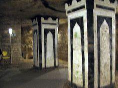 Entrada do Ossario - Catacumbas de Paris