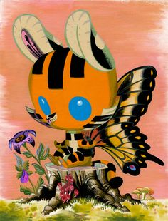 Tiger Butterfly by *Pocketowl on deviantART