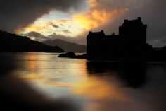 Time now for a wee contribution from one of my favourite landscape photographers. Eilean Donan, What A Wonderful World, Landscape Photographers, Wonders Of The World, Scotland, Castle, Sunset, Photo Time, Outdoor